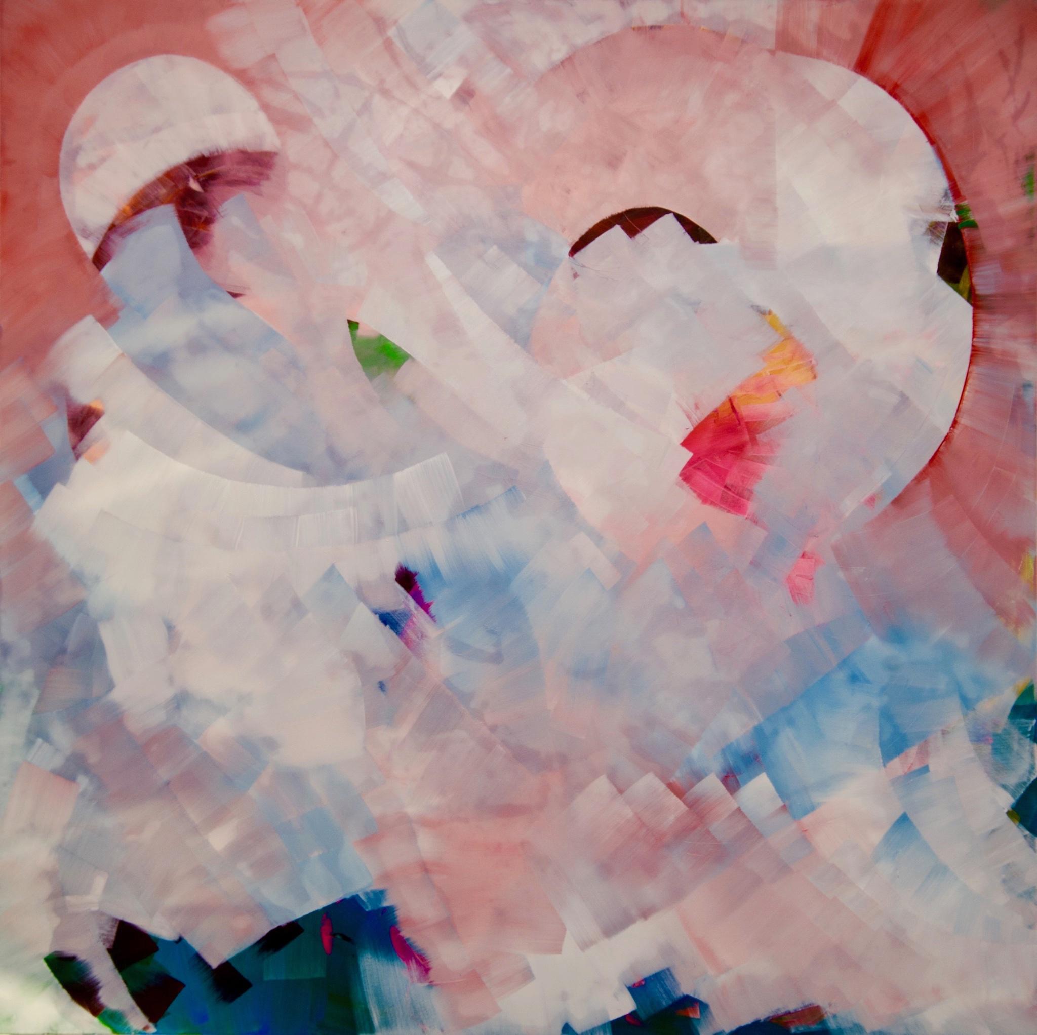 200 x 200 cm, oil and acrylic on canvas