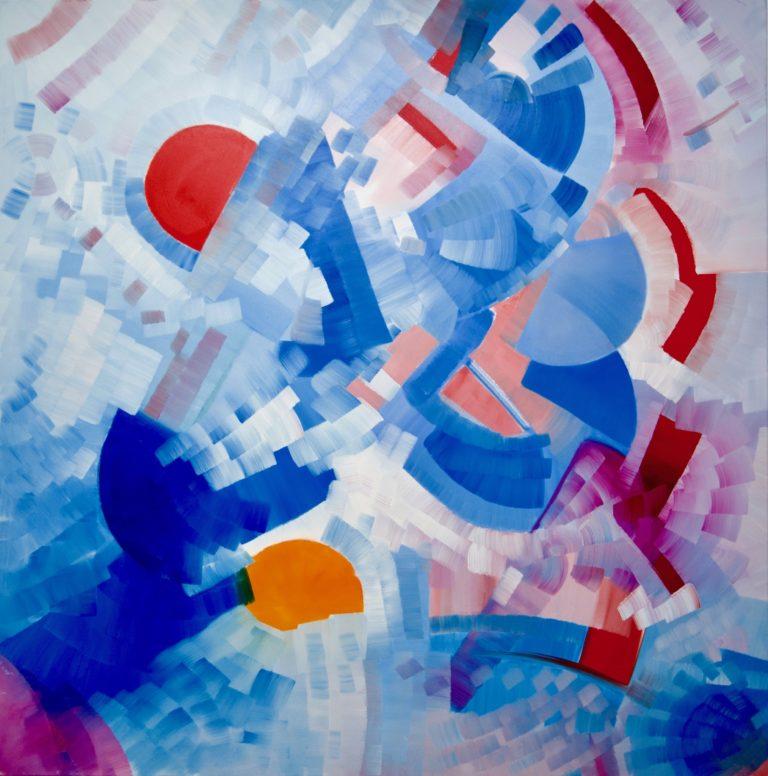 200 x 200 cm, oil on canvas